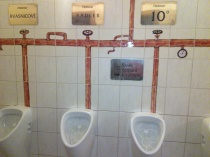 rekonstrukce záchodů v pivovaru