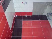 obkladačské práce - koupelna