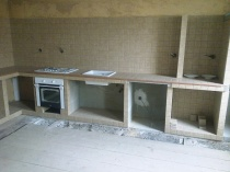 obkladačské práce - kuchyň
